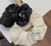 2021 Donne Letter Hair Gomma Band Bowknot Lettere Casurali Elastici Corda Holder Ponytail Portail Charm Accessori per capelli Regalo