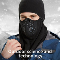 Men Women Winter Windproof Hiking Caps Warm Thermal Fleece Face Breathable Beanies Ski Bike Motorcycle Neck Warmer Helmet Hat Cycling & Mask