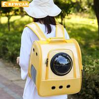 Carrier Perro Cat Space Capsule Forma Mascota Viajes Llevar Mochila Hombro Transpirable Off Travel Portable Bag Product