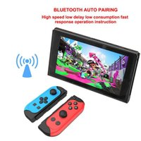 Game Controllers & Joysticks For Switch Bluetooth-compatible Wireless Controller Joystick Full Colors Joypad Motor Vibration Built-