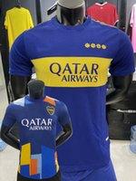 2021 2022 Boca Juniors Spielerversion Fussball Jerseys Maradona Villa Varela Marcos Rojo Carlitos de Rossi Tevez Salvio Home Away 3rd 20 21 22 Football Eng Hemd