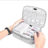 Storage Bags Universal External Hard Drive Case Cable Organizer Cases Electronics Accessories Bag For Disk, USB Flash