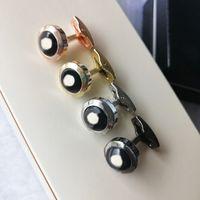 L-M02 com caixa 4 cores designer abotoaduras homens camisa francesa manguito links avançado presente de casamento jóias de luxo