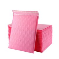 Gift Wrap 50 Pcs Poly Bubble Envelope Pink Mail Packaging Bags Envelopes Lined Mailer Self Seal Internet Mailers