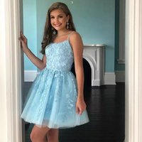 Dusty Rose Short Tulle Homecoming Dresses for Sweet 16 Junior Prom Gowns Appliques A Line Flared Sheer Above the Knee length Corest Back Cocktail Gown 2021
