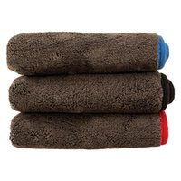 Car Sponge 1200GSM Detailing Microfiber Towel Cleaning Drying Cloth Thick Washing Rag For Cars Kitchen Care