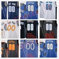 Basketball Jerseys Imprimé Al-Farouq Aminu Jonathan Isaac Michael Carter-Williams James James Ennis III Dwayne Bacon Os Gary Clark Karim Mane Chuma Okeke Jersey