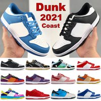 Mais novo Dunk Men Tênis Costa Costa Chunky Dunky Preto Branco Sombra Kentucky Travis Scotts Laser Laser Low Mens Mulheres Sneakers US 5.5-11