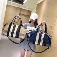 Duffel Bags Yoga Gym Bag For Women Design Brand Travel Nylon Airport Large Capacity Clothes Holiday Weekend Handbag Sac
