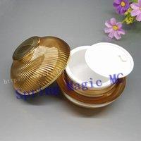 High Quality 30g Gold Acrylic Cream Jar,bowl-shaped Cosmetic Container Bottles,Empty Plastic Eye Jar,cosmetic Bottle Storage Bottles & Jars