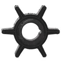 Su Pompası Çark Kauçuk Tohatsu / Merkür / Sierra 2 / 2.5 / 3.5 / 4/5 / 6HP Dıştan Takma Motor 6 Bıçakları 369-65021 / 47-16154-3 / 18-3098