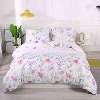 Floral Classico moderno copripiumino e federa stile conciso biancheria da letto tessile set non fogli