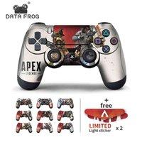 데이터 개구리 2pcs Apex Legends 용 스티커 Sony PlayStation4 PS4 슬림 프로 스티커 용 게임 컨트롤러 용 스킨 210425