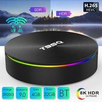 T95Q Android 9.0 TV 박스 4GB + 32GB / 64GB Amlogic S905X3 쿼드 코어 듀얼 2.4G5GHz WiFi BT PK X96