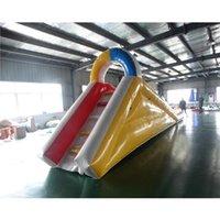 Slides infláveis da água da venda da FCtory para as crianças longas atividades ao ar livre dos jogos