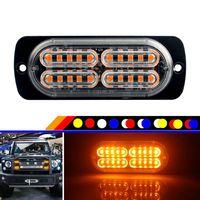 Грузовик 20 светодиодный аварийный свет для автомобиля предупреждение мигающие пожарные полицейские стробоскопные огни 12-24V Lightbar
