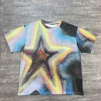 2021 Sommer Neue Fasion Herren Schöne T-Shirts ~ US-Größe T-shirts Übergroß ~ Great Herren Hochwertige Designer Kurzarm T-Shirts