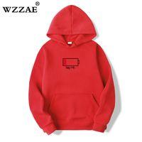 WZZAE 2020 Niedrig Helfen Sie mir Hoodies Männer 3D Kreative mit Kapuze Sweatshirts Mode Streetwear Hip Hop Black Hoodie Male Plus Größe S-XXL Y0319