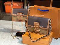 2021 Luxus Handtasche Umhängetasche Clutch Lady Fashionbag Leder Klassisch SaddLelady Horsebit Crossbodybag