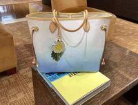 M45679 mm 가방 2 사진 그라디언트 캔버스 여성 어깨 가방 숄더백 파우치 지갑 꽃 매력 가죽 산화 패션 쇼핑 지갑 클러치 빠른 M45680 M45678