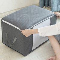 Cloth Blanket Storage Bag Closet Organizer Underbed Storage Foldable Non-woven Breathable Closet Storage Bags ORGANIZER BAG