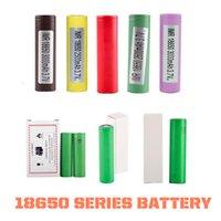 Alta Qualidade HG2 30Q VTC6 18650 Bateria 3000mAH INR18650 LG 25R HE2 HE4 2500MAH VTC5 2600mAh VTC4 E CIG MOD Recarregável em estoque