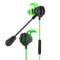 G6 Kulaklık Kaskları PS4 için PS4 CSGO Casque Oyunları Oyun Kulaklık Kulaklık 7.1 Mic Hacim Kontrol PC Gamer Kulaklık Ile