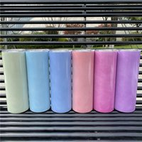 UV color changing tumblers DIY 20oz straight sublimation tum...