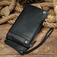 Wallets Wallet Case For Women Men Compatible Clutch Leather Handbag Wristlets Card Holder Phone Bag1