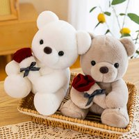 Kaimi family Genuine Rose doll confession gift teddy bear plush toy for Girl Doll