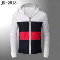 Новые Мужские Дизайнерские Толстовки Куртка Мужская Пара Лучшие Сплошные Цветовые Пальто с капюшоном Мода Бренд с длинным рукавом