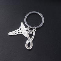 10pcrj Caduceus Stethoscope médical Sceptre Porte-clés Crâne Ange Pendentif Infirmière Docteur Cosplay Bijoux Accessoires Cadeaux