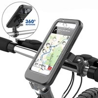 Cell Phone Mounts & Holders Bike Holder Case Waterproof Bicycle Mobile Stand Motorcycle Handlebar Cellphone Mount Motorbike Cycling Accessor