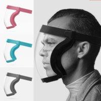 Aktif Kalkan Hibrid Yüz Maskesi Kalkanı Anti-Sprey Maskesi Anti-Sis Toz Geçirmez Rüzgar geçirmez ve Bisiklete binme C2998 Sürme için Soğuk Geçirmez