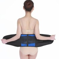 Waist Support Sports Trainer Belt Health Fitness Lumbar Breathable Neoprene Lower Back Brace With Double Banded Strong Com
