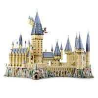Nuevos Lepinblocks 16060 Magic School Castle Compatible 71043 Bloques de construcción Ladrillos Juguete educativo Niños Regalo