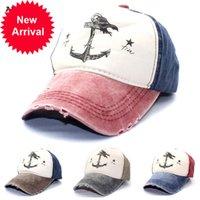 الصيف الخريف غسلها القطن قبعات البيسبول الهيب هوب snapback القبعات الأزواج قبعة الرجال امرأة مرساة gorras تفعل القديم القراصنة سفينة قبعة