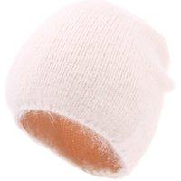 Women Beanie Hat Winter Knitted Rabbit Fur Skullies Warm Bonnet Cap Female Hats for Girl