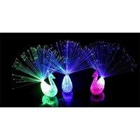 새로운 참신 디자인 다채로운 빛 공작 LED 조명 손가락 장난감 최고의 크리스마스 할로윈 파티 선물 Myy