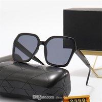Klasik Marka Tasarım Güneş Gözlüğü 2021 Moda Lüks Polarize Erkek Kadın Pilot 2390 Vintage Sunglass UV400 Gözlük Gözlük Boy Kedi Göz Çerçevesi Polaroid Lens