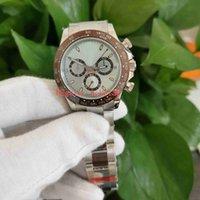 JH Maker Top Men WristWatches relógios 40mm 116506 Cronógrafo trabalho ETA CAL.4130 Movimento Inoxidável 316L Mecânica Mens Relógio Mens