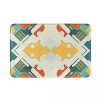 Carpets Abstract Art Texture Colorful Creative 3D Pattern Home Floor Decoration Living Room Kitchen Bathroom Non Slip Doormat