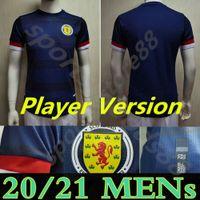 21 22 Oyuncu Sürüm Scotland Soccer Jersey 2021 2022 Tierney Robertson McTominay Futbol Gömlek Christie McGregor McGinn Erkekler Çocuklar Üniforma Ev Uzakta Kits Camesitas