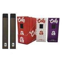CAKE Delta 8 Jetable Vape Pol Pod Device E-Cigarettes Kits de démarrage 1ML Vape vides Pods 270MAH 3.3V Batterie rechargeable Micro USB Snap-Ont