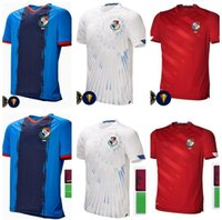 2021 2022 Panamá Futebol Jerseys Home Michael Murillo 20 21 Camisetas Eric Davis Alberto Quintero Aníbal Panamá Camisas de Futebol Fardos
