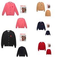 Damen strickt Pullover Liebe Strickjacke Paar tragen Strickherbst- und Winterjacke Lose casual hohe Qualität T-Shirts 0101