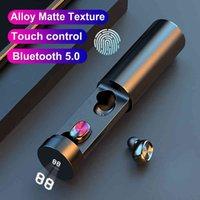 TWS Bluetooth Auricolare B9 5.0 wireless 8D HiFi Sport MIC Auricolari da gioco Auricolare musicale per Xiaomi Samsung Huawei