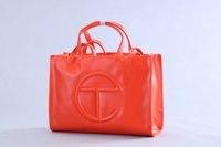 Womens Taschen Telfar Handtaschen Stil Luxus Schulter Party Kosmetik Geschenk PU-Leder Hohe Qualität Handtasche Großhandel Orange Weiß Schwarz Rosa Grün Rot Silber C99-10