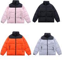 Designer homens para baixo face casual casacos acolchoados casacos mulheres e homens casais 1996 moda na moda marca stand-up colarinho inverno cor-bloqueio de cor