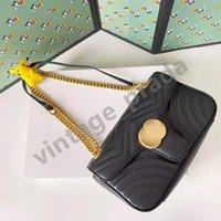 Top Qualität Echtes Leder Marmont Women's Herren Tote G Crossbody Taschen Luxus Designer Frau Mode Shopping Brieftasche Kamera Hüllen Karten Taschen Handtasche Umhängetasche